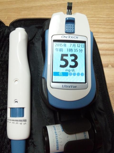 自己血糖測定
